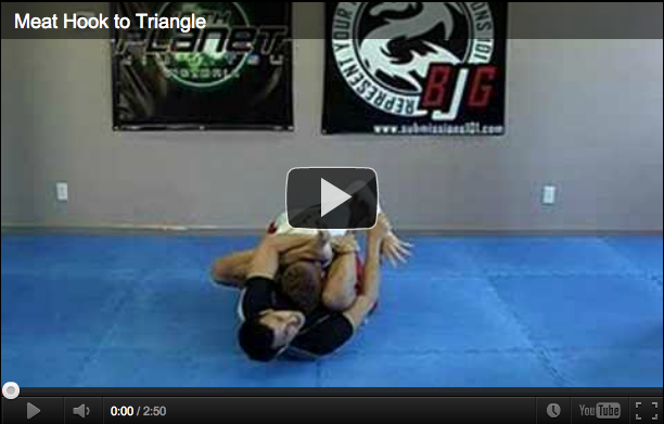Submissions 101 Rubber Guard To Triangle Choke