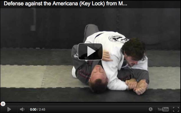 Submissions 101 Americana Defence