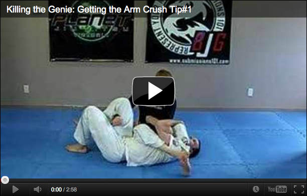 Submissions 101 Getting The Arm Crush