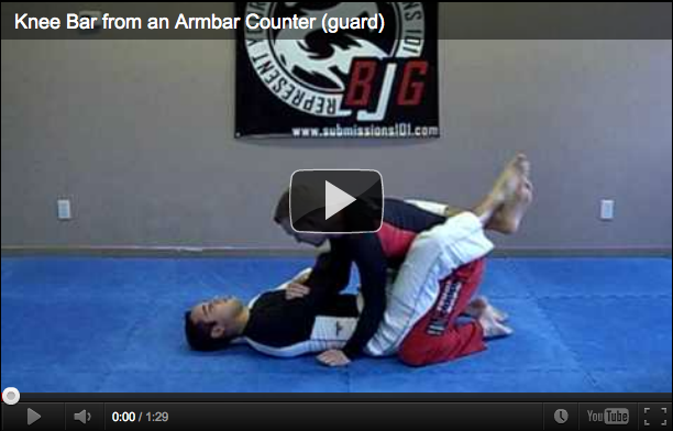Submissions 101 Knee Bar