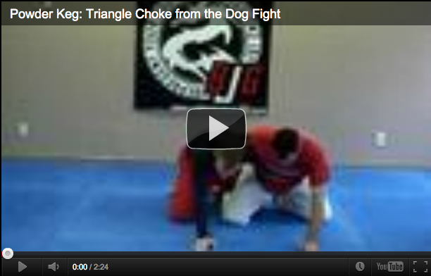 Submissions 101 Powder Keg Triangle Choke